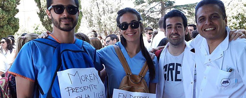 AMRA ACOMPAÑÓ A LOS RESIDENTES DE LA PROVINCIA EN SU RECLAMO